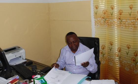 Chef du département de la Médecine Interne des CUK
